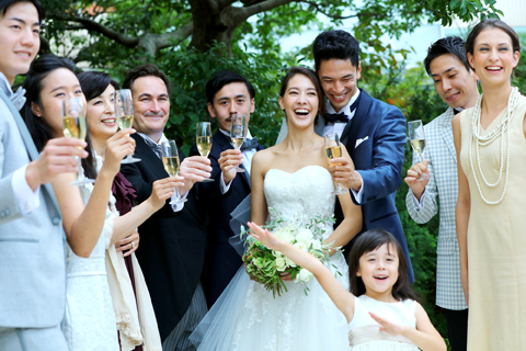 【40名以上の披露宴に】Special Wedding Plan CIEL 2016